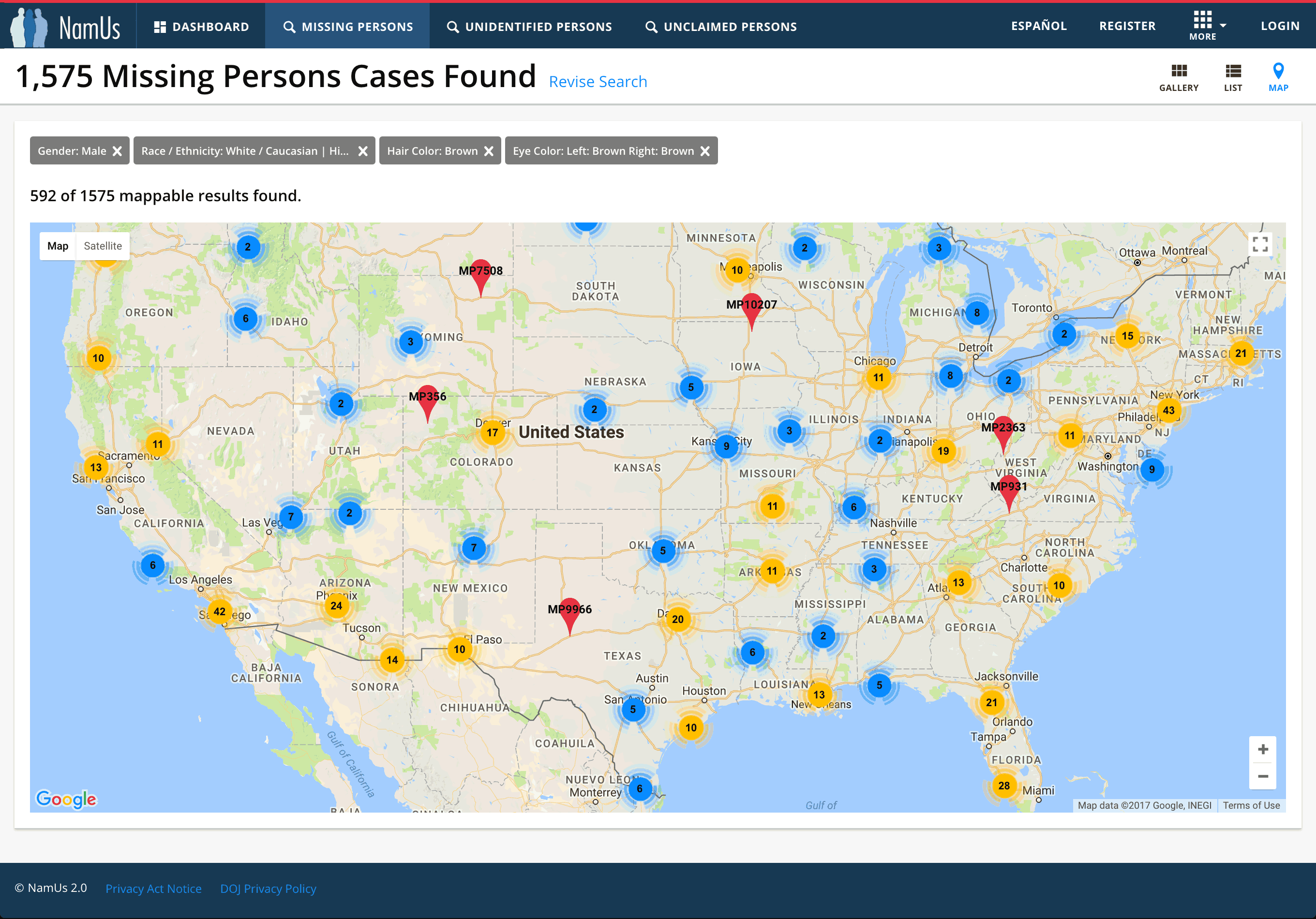 Enhanced Case Mapping